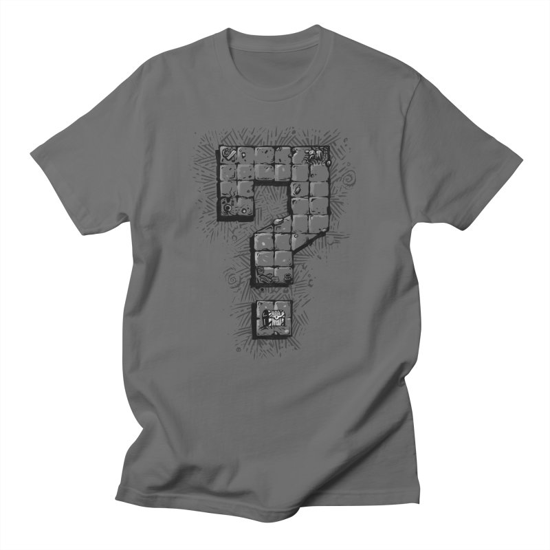 Dungeon Treasure Map Men's T-Shirt by dustinlincoln's Artist Shop
