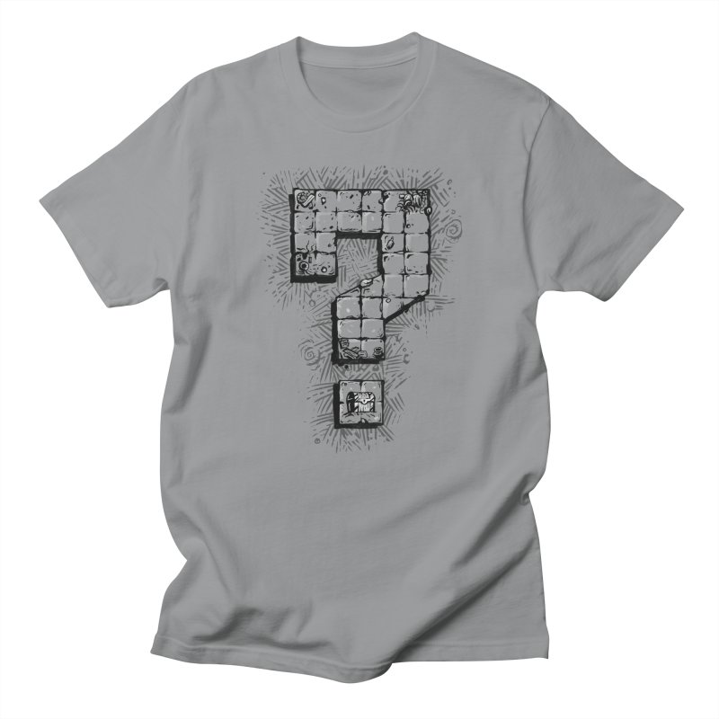 Dungeon Treasure Map Women's Regular Unisex T-Shirt by dustinlincoln's Artist Shop