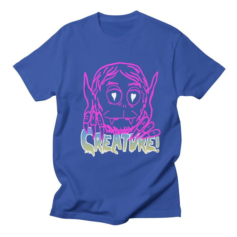 Creature electro 80's style Men's T-Shirt by dustinmckamie's Artist Shop