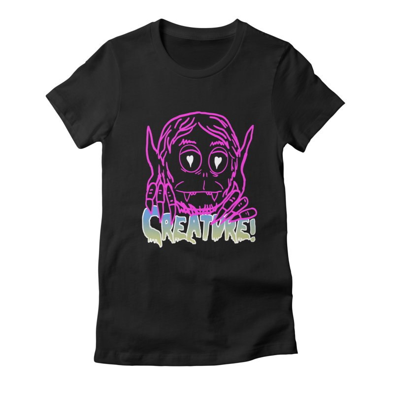 Creature electro 80's style Women's T-Shirt by dustinmckamie's Artist Shop