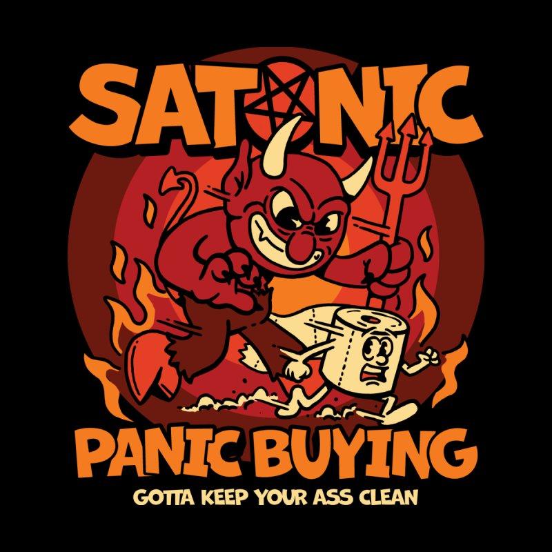 Satanic Panic Buying Men's Tank by dustinwyattdesign's Shop