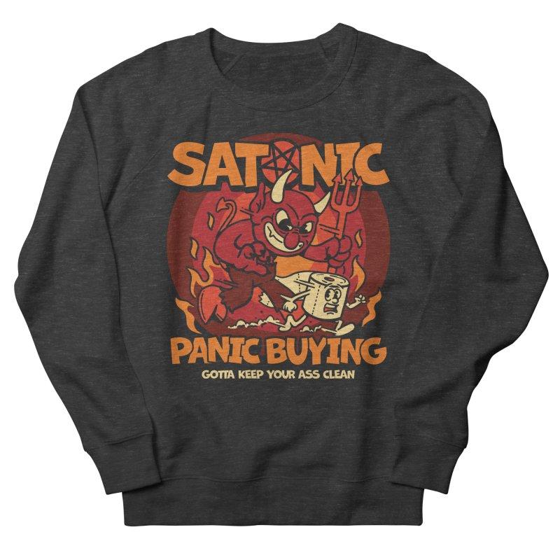 Satanic Panic Buying Women's Sweatshirt by dustinwyattdesign's Shop