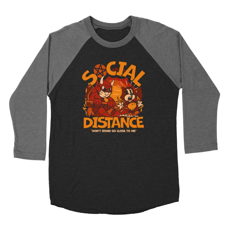 Social Distance Women's Longsleeve T-Shirt by dustinwyattdesign's Shop