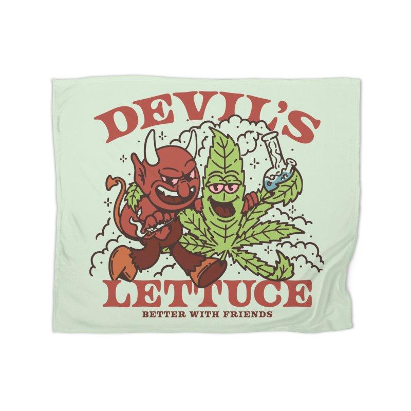 Devil's Lettuce Home Blanket by dustinwyattdesign's Shop