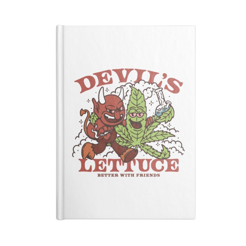 Devil's Lettuce Accessories Notebook by dustinwyattdesign's Shop
