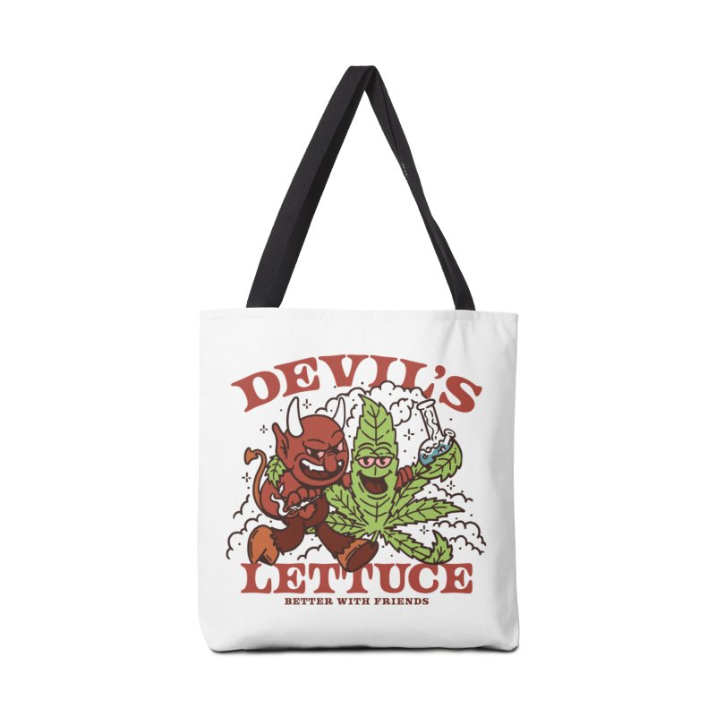 Devil's Lettuce Accessories Bag by dustinwyattdesign's Shop
