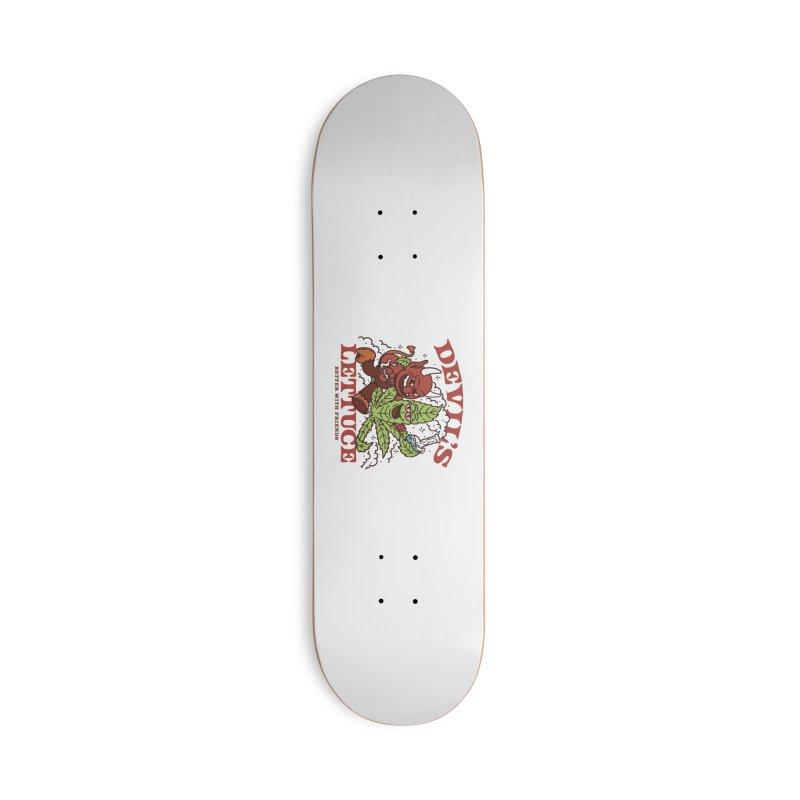 Devil's Lettuce Accessories Skateboard by dustinwyattdesign's Shop