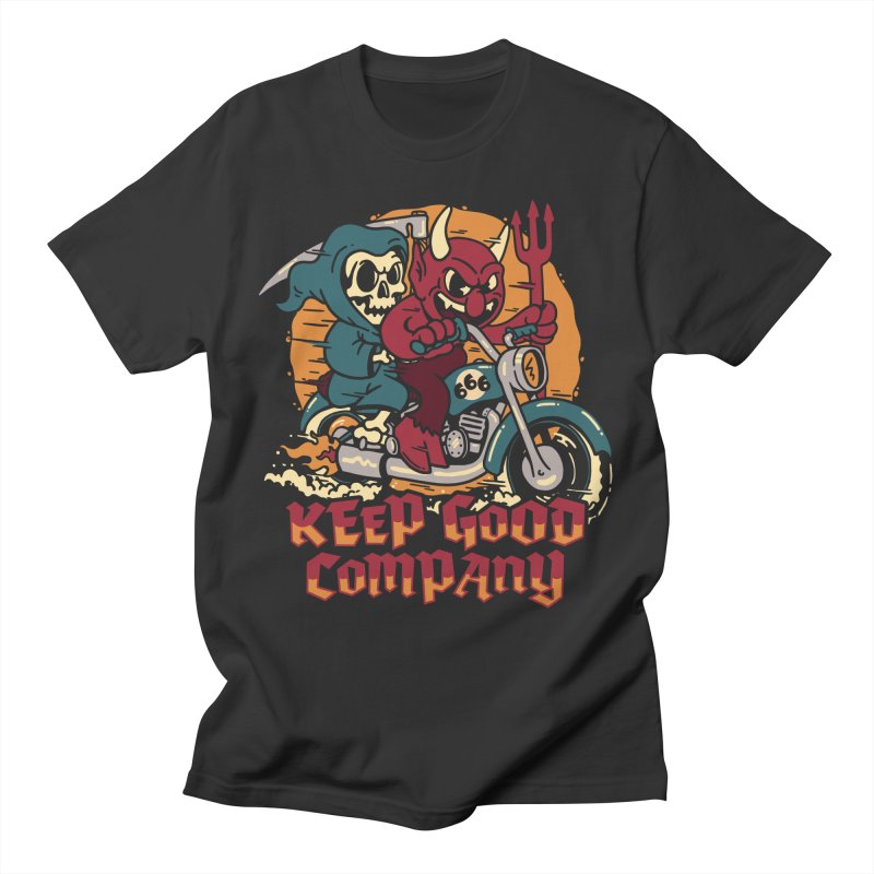 Keep Good Company Men's T-Shirt by dustinwyattdesign's Shop