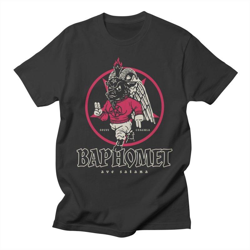 Baphomet Men's T-Shirt by dustinwyattdesign's Shop