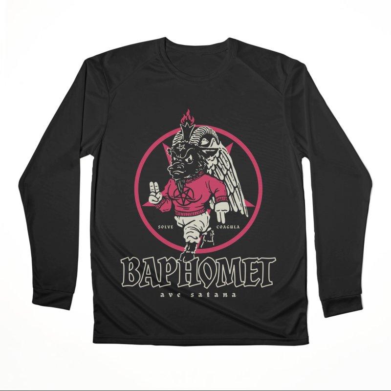 Baphomet Women's Longsleeve T-Shirt by dustinwyattdesign's Shop