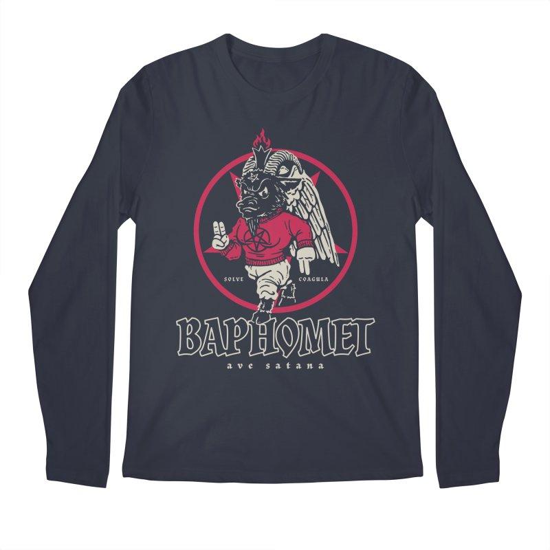 Baphomet Men's Longsleeve T-Shirt by dustinwyattdesign's Shop