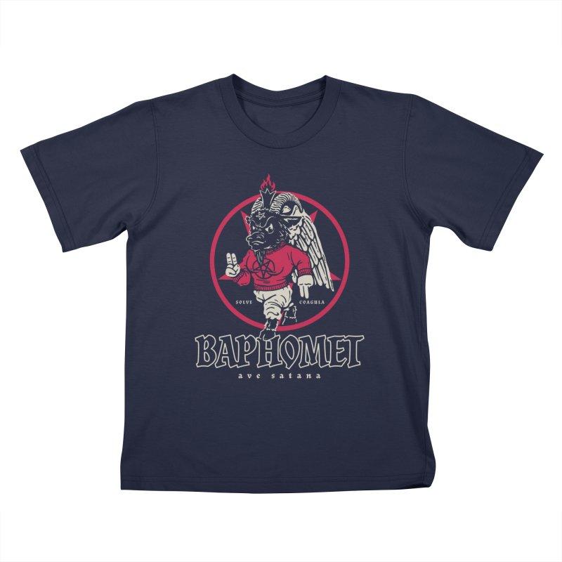Baphomet Kids T-Shirt by dustinwyattdesign's Shop