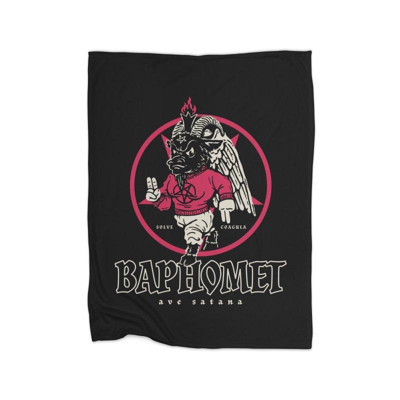 Baphomet Home Blanket by dustinwyattdesign's Shop
