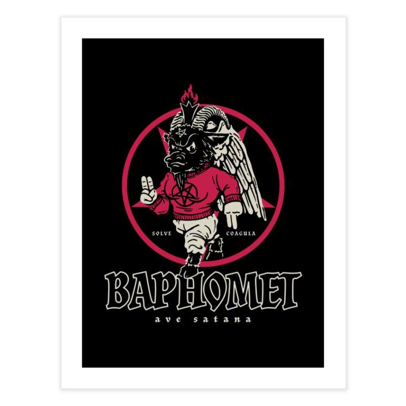 Baphomet Home Fine Art Print by dustinwyattdesign's Shop