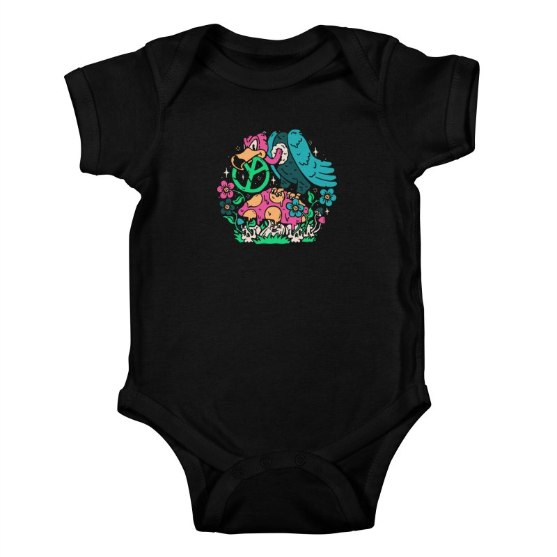 No Peace Kids Baby Bodysuit by dustinwyattdesign's Shop