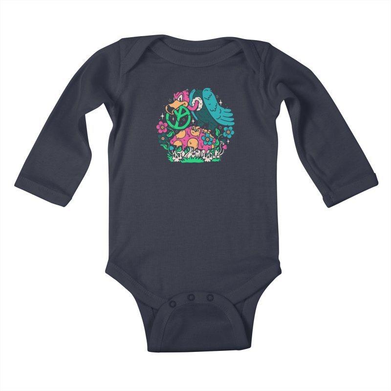 No Peace Kids Baby Longsleeve Bodysuit by dustinwyattdesign's Shop