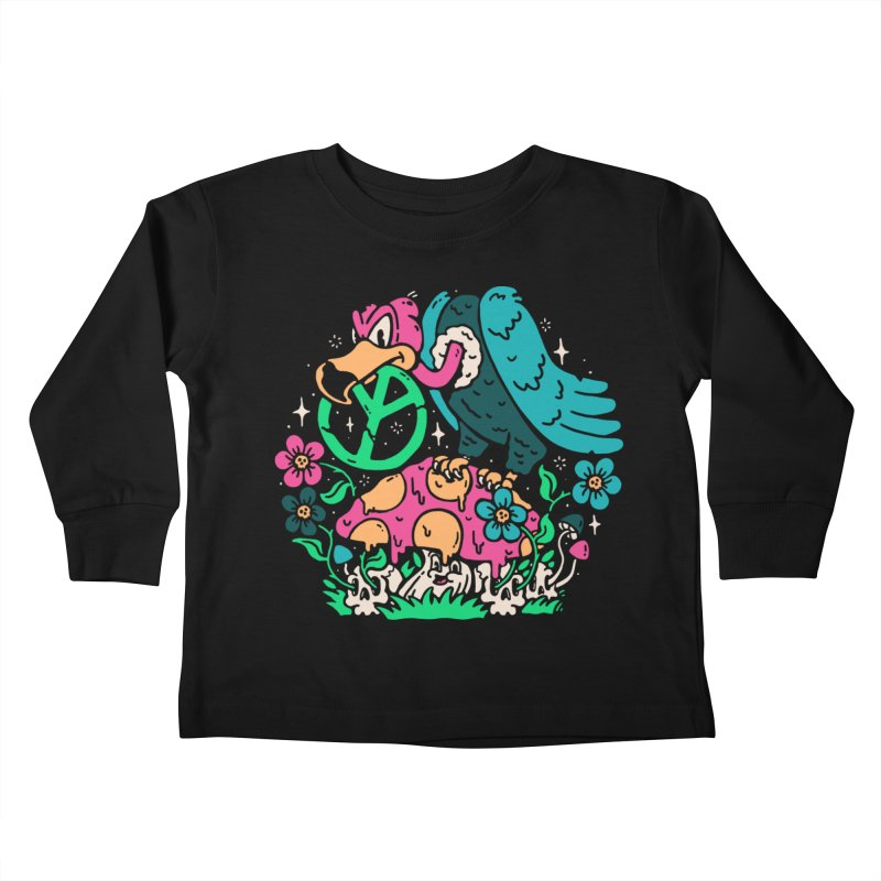 No Peace Kids Toddler Longsleeve T-Shirt by dustinwyattdesign's Shop