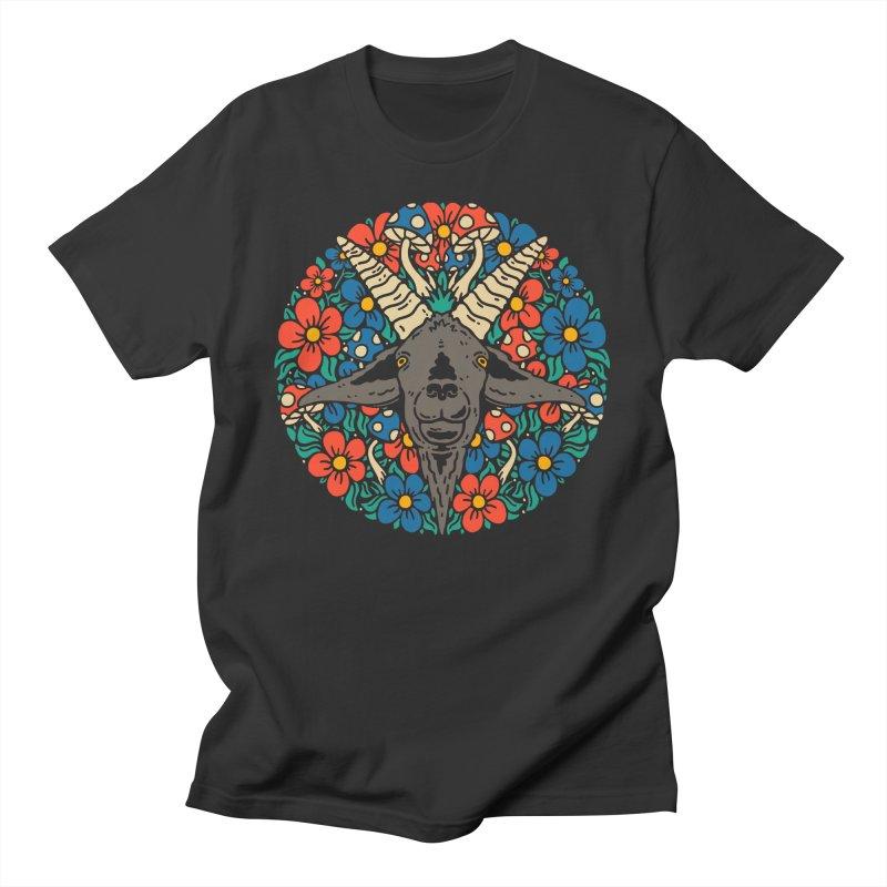 Pentagoat Men's T-Shirt by dustinwyattdesign's Shop