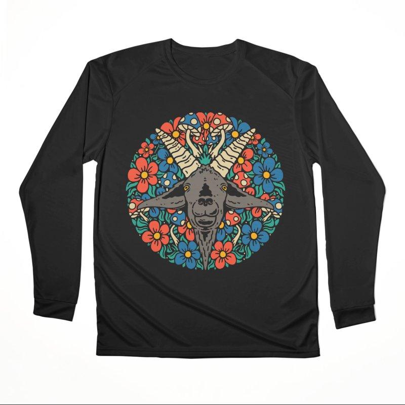 Pentagoat Women's Longsleeve T-Shirt by dustinwyattdesign's Shop