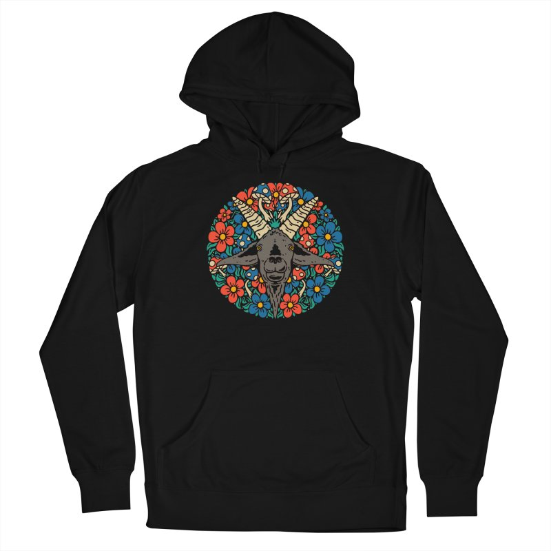 Pentagoat Women's Pullover Hoody by dustinwyattdesign's Shop