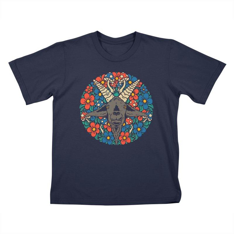 Pentagoat Kids T-Shirt by dustinwyattdesign's Shop