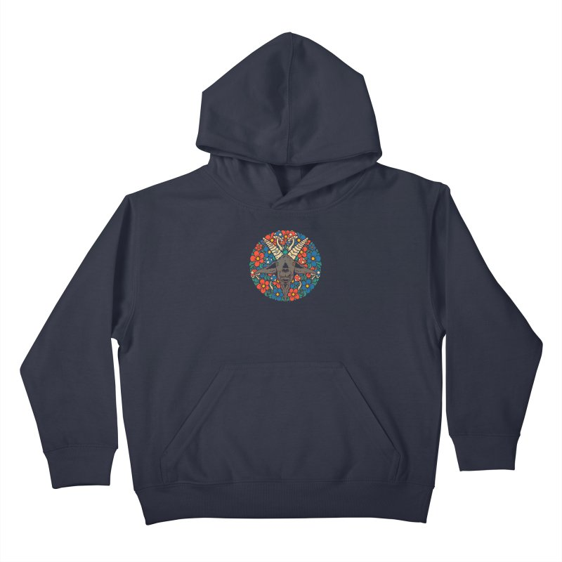 Pentagoat Kids Pullover Hoody by dustinwyattdesign's Shop