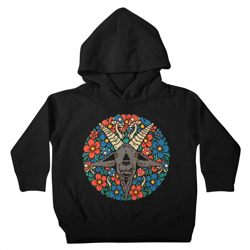 Pentagoat Kids Toddler Pullover Hoody by dustinwyattdesign's Shop