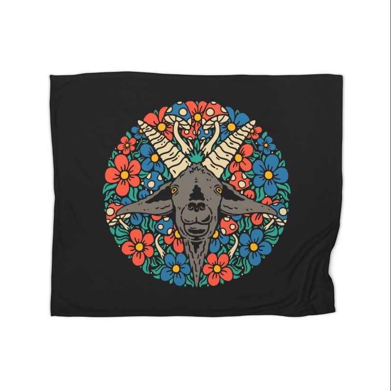 Pentagoat Home Blanket by dustinwyattdesign's Shop