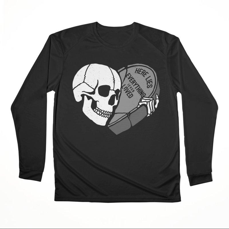 Here Lies Women's Longsleeve T-Shirt by dustinwyattdesign's Shop