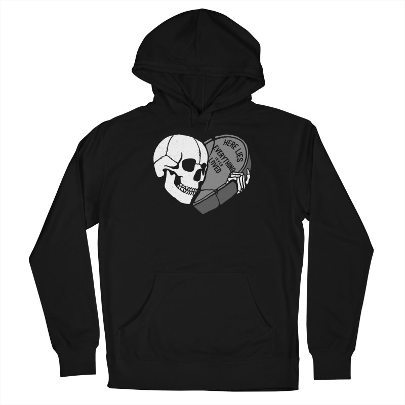 Here Lies Women's Pullover Hoody by dustinwyattdesign's Shop