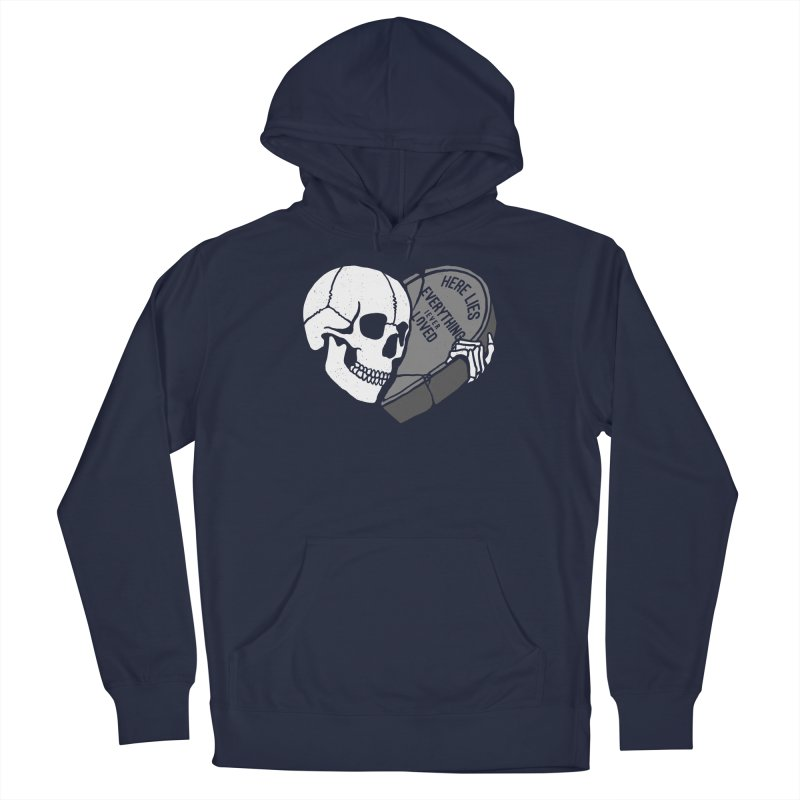 Here Lies Men's Pullover Hoody by dustinwyattdesign's Shop
