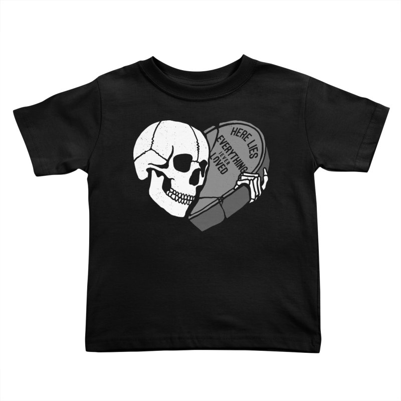 Here Lies Kids Toddler T-Shirt by dustinwyattdesign's Shop