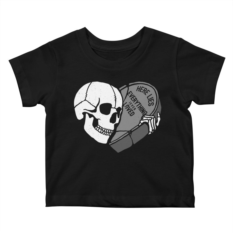 Here Lies Kids Baby T-Shirt by dustinwyattdesign's Shop