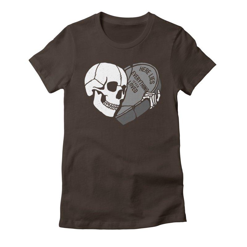 Here Lies Women's T-Shirt by dustinwyattdesign's Shop