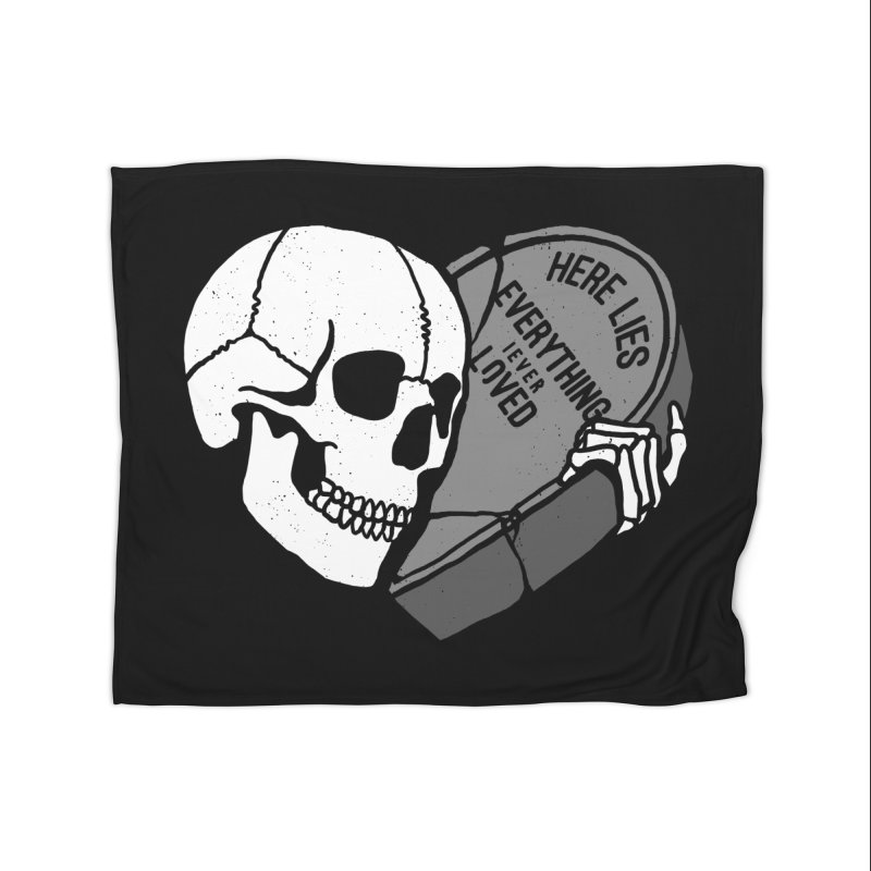 Here Lies Home Blanket by dustinwyattdesign's Shop