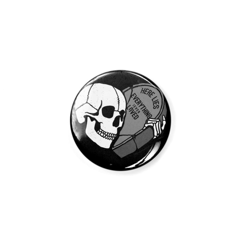 Here Lies Accessories Button by dustinwyattdesign's Shop