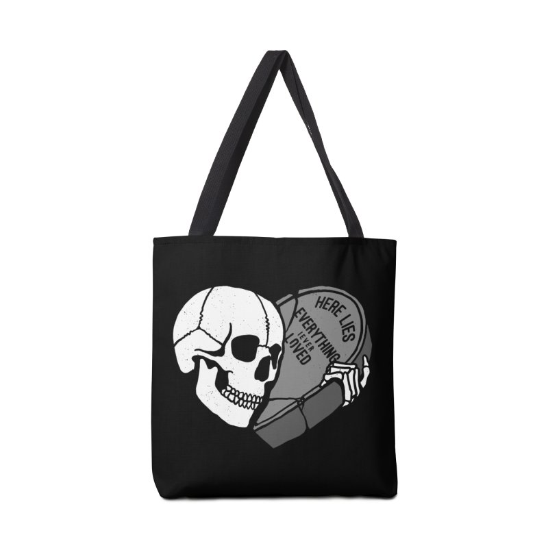 Here Lies Accessories Bag by dustinwyattdesign's Shop