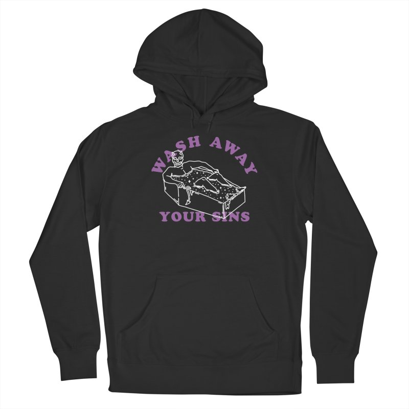 Wash Away Your Sins Men's Pullover Hoody by dustinwyattdesign's Shop