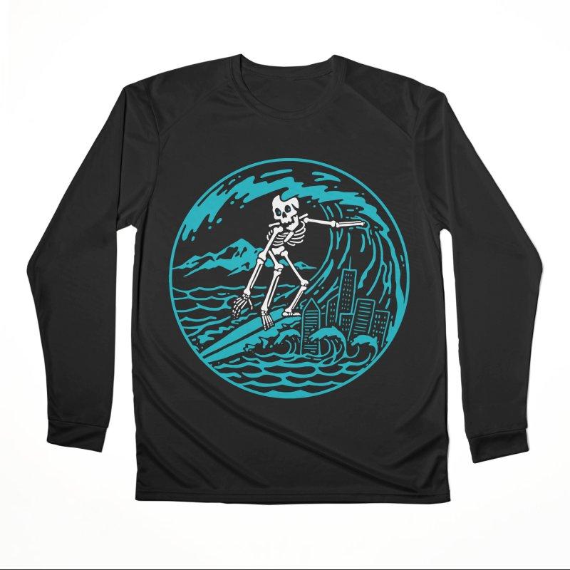 Surf City Men's Longsleeve T-Shirt by dustinwyattdesign's Shop