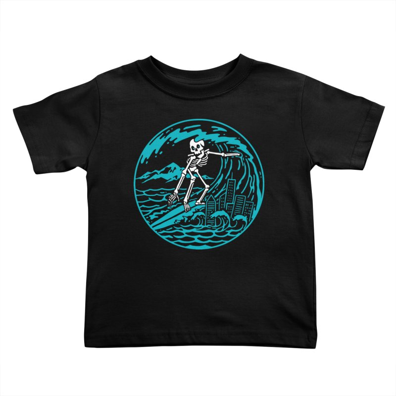 Surf City Kids Toddler T-Shirt by dustinwyattdesign's Shop