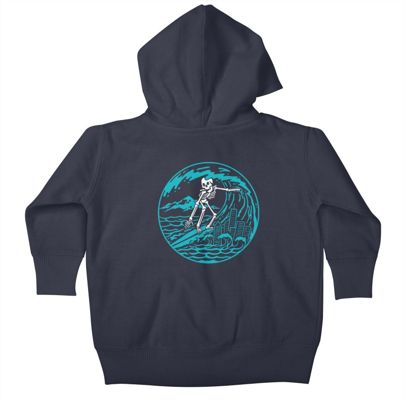 Surf City Kids Baby Zip-Up Hoody by dustinwyattdesign's Shop