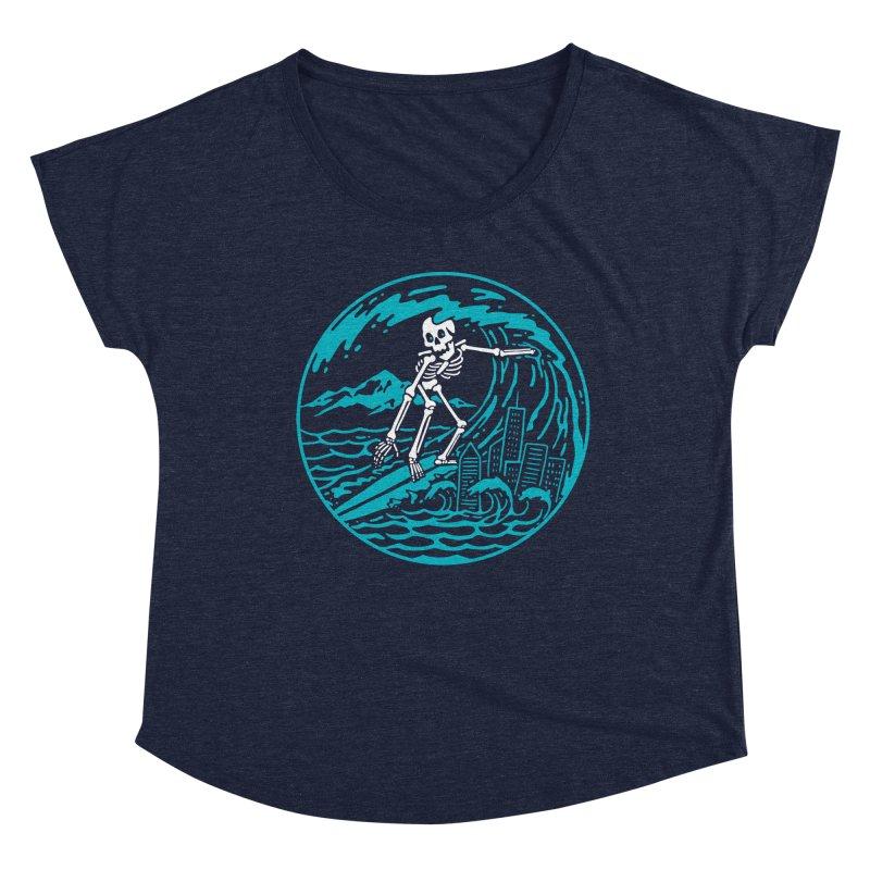 Surf City Women's Scoop Neck by dustinwyattdesign's Shop