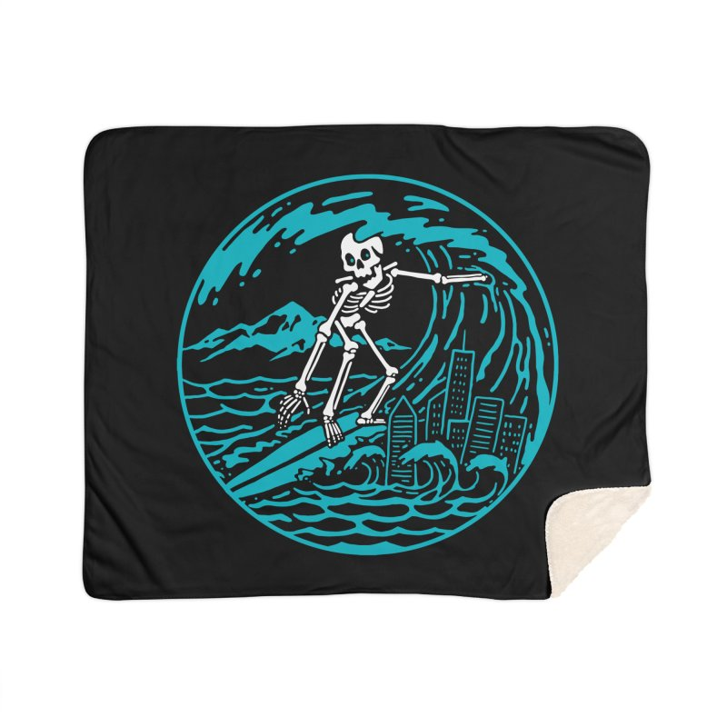 Surf City Home Blanket by dustinwyattdesign's Shop