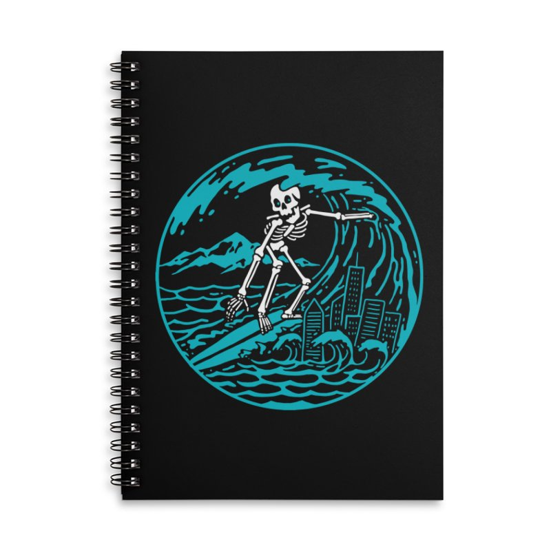 Surf City Accessories Notebook by dustinwyattdesign's Shop
