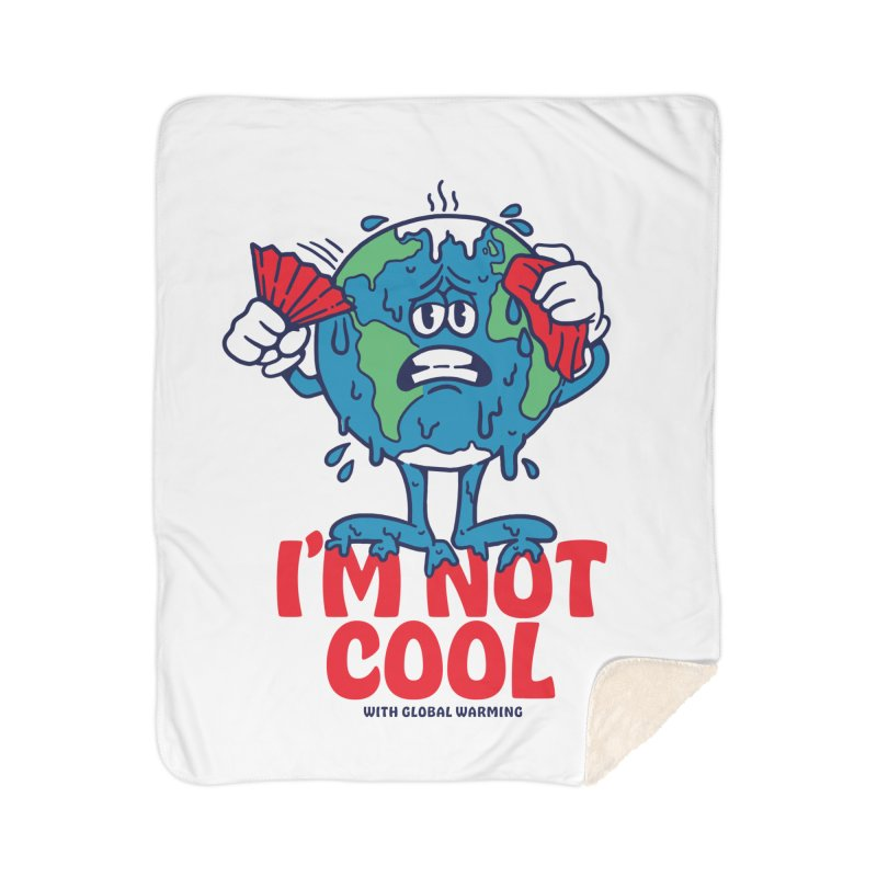 I'm Not Cool Home Blanket by dustinwyattdesign's Shop