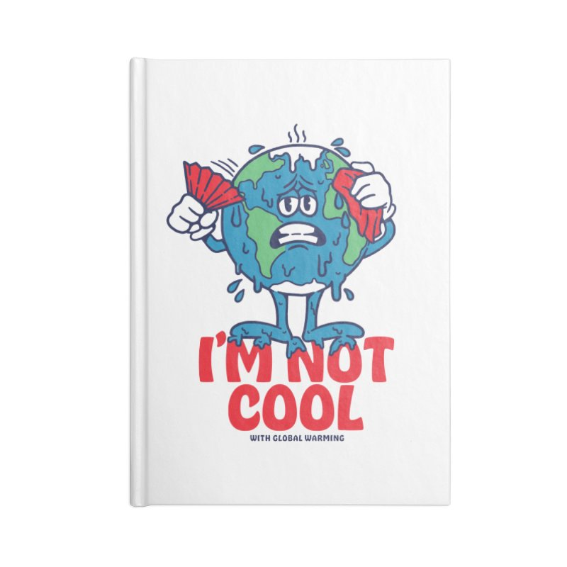 I'm Not Cool Accessories Notebook by dustinwyattdesign's Shop