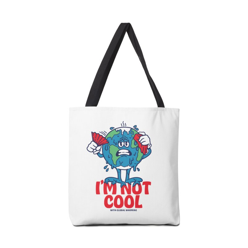 I'm Not Cool Accessories Bag by dustinwyattdesign's Shop