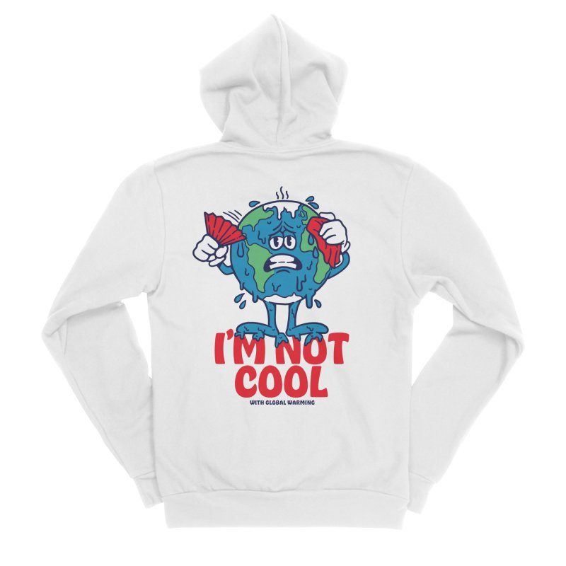 I'm Not Cool Men's Zip-Up Hoody by dustinwyattdesign's Shop