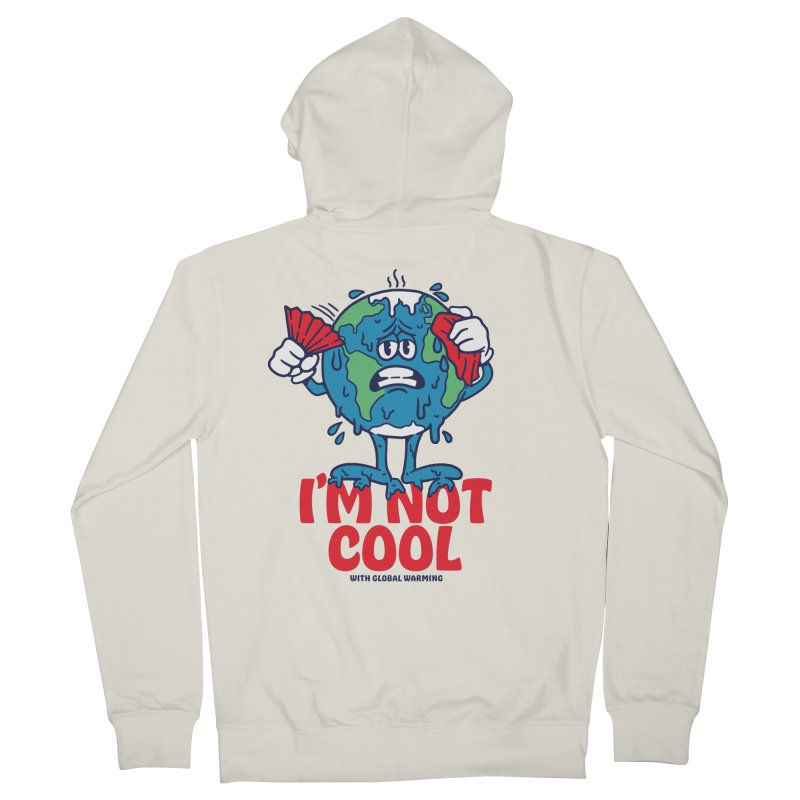 I'm Not Cool Women's Zip-Up Hoody by dustinwyattdesign's Shop