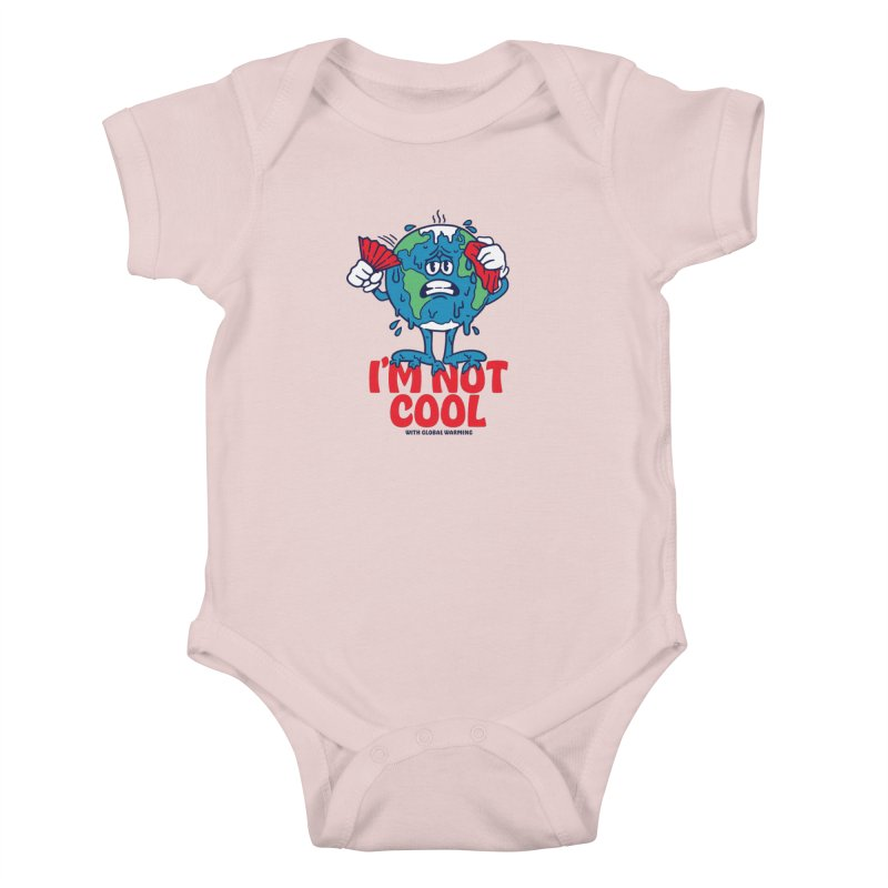 I'm Not Cool Kids Baby Bodysuit by dustinwyattdesign's Shop